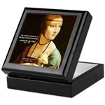 Leonardo da Vinci Pleasure Keepsake Box