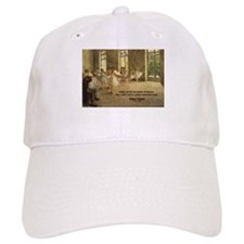 Degas Dancers Quote Baseball Cap