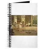 Degas Dancers Quote Journal