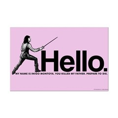 Princess Bride Inigo Montoya Mini Poster Print