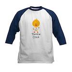 I Heart Spock Trekkie Chick Kids Baseball Jersey