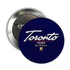 "Toronto Script 2.25"" Button"