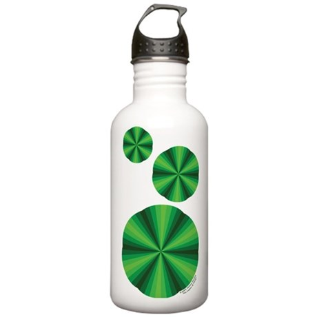 Green Illusion Stainless Water Bottle 1.0L
