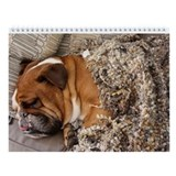 Bulldog Wall Calendar &amp;quot;A&amp;quot;