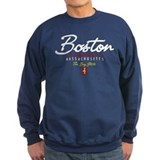 Boston Script Sweatshirt