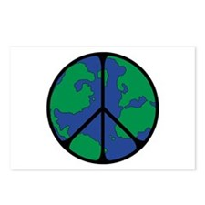 Global Peace Sign Postcards (Package of 8)