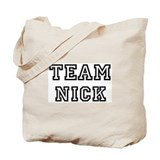 Team Nick Tote Bag