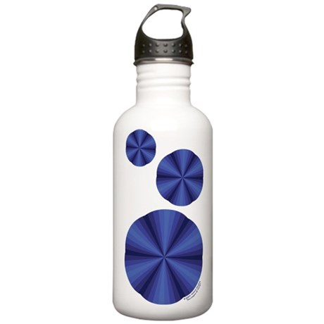 Blue Illusion Stainless Water Bottle 1.0L