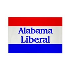Alabama Liberal Rectangle Magnet