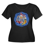 Rapid City Fire Department Women's Plus Size Scoop
