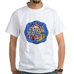 Rapid City Fire Department White T-Shirt