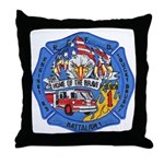 Rapid City Fire Department Throw Pillow