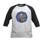Rapid City Fire Department Kids Baseball Jersey