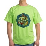 Rapid City Fire Department Green T-Shirt