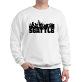 Seattle Skyline Sweater