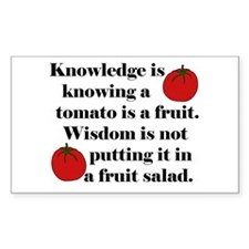 Tomato Fruit Salad Decal