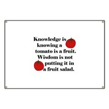 Tomato Fruit Salad Banner