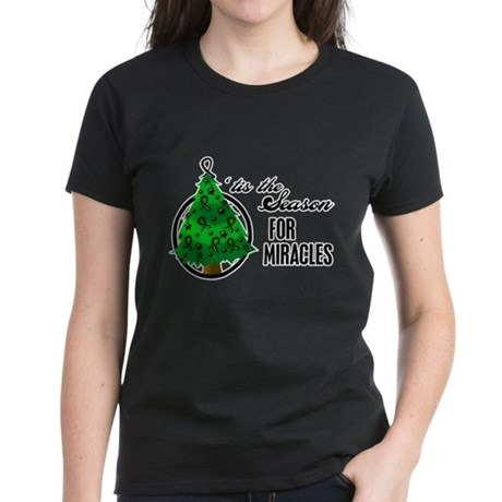 SeasonMiraclesCancer Women's Dark T-Shirt