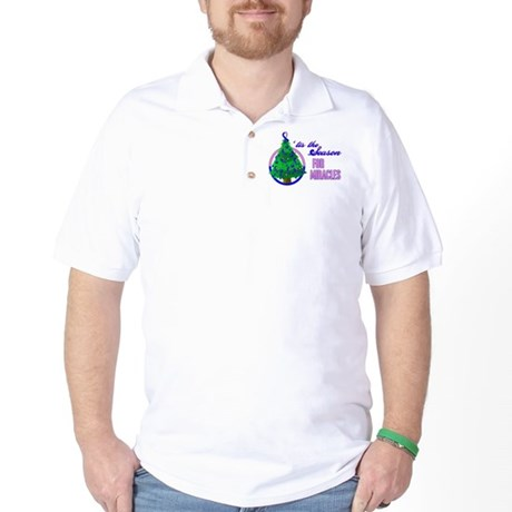 SeasonMiraclesCancer Golf Shirt