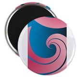 Big Pink Wave Magnet