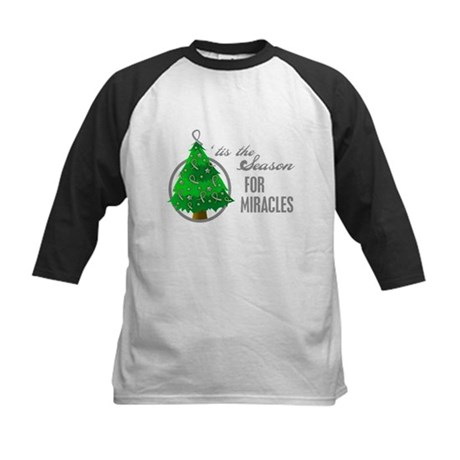 SeasonMiraclesCancer Kids Baseball Jersey