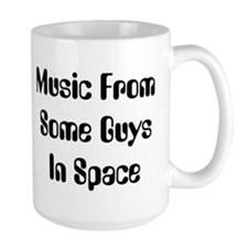 Music From Some Guys In Space Mug