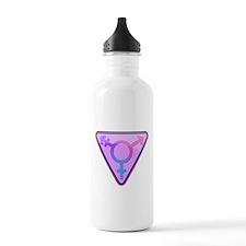 Transgender Symbol Water Bottle