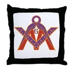 M.I.S.T.E.R. Throw Pillow