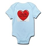 I love my Aunt Kimmy Custom Infant Bodysuit