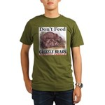 Don't Feed Grizzly Bears They Organic Men's T-Shir