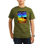 Arches National Park, Utah Organic Men's T-Shirt (