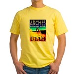 Arches National Park, Utah Yellow T-Shirt