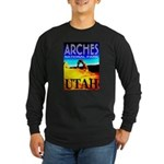 Arches National Park, Utah Long Sleeve Dark T-Shir