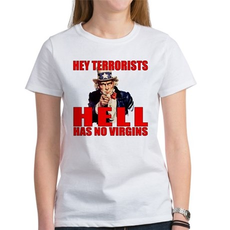 """Hell Has No Virgins"" Women's T-Shirt"