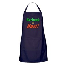 Burbank or Bust! Apron (dark)