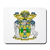 Pamela Thomas Coat of Arms Mousepad