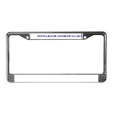 Lexus License Plate Frame