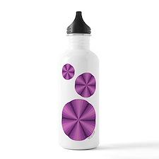 Purple Illusion Water Bottle