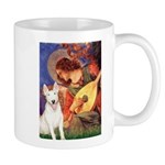Mandolin Angel / Bull Terrier Mug