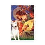 Mandolin Angel / Bull Terrier Sticker (Rectangle 1