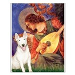 Mandolin Angel / Bull Terrier Small Poster
