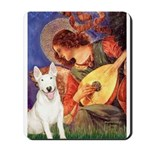 Mandolin Angel / Bull Terrier Mousepad