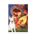 Mandolin Angel / Bull Terrier Mini Poster Print