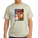 Mandolin Angel / Bull Terrier Light T-Shirt