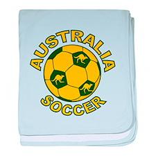 Australia Soccer New Infant Blanket