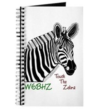 Touch the Zebra Journal