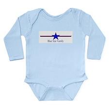 Funny Service star Long Sleeve Infant Bodysuit