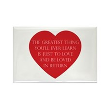 Love and be Loved Rectangle Magnet (10 pack)