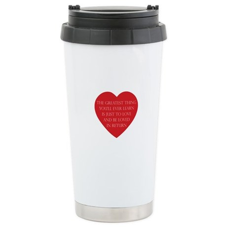 Love and be Loved Ceramic Travel Mug