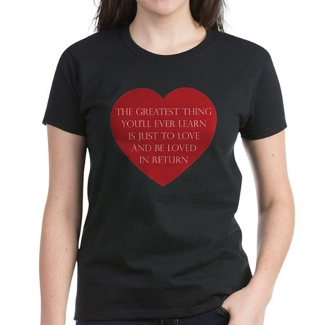 Love and be Loved Women's Dark T-Shirt